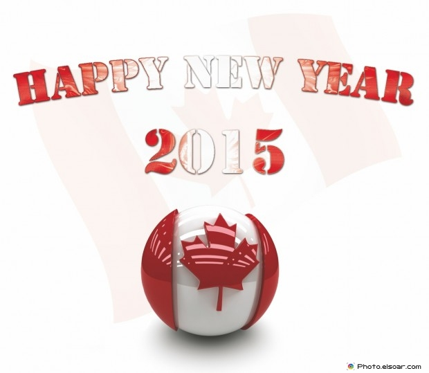 Happy New Year 2015 Canada + Bonne année!