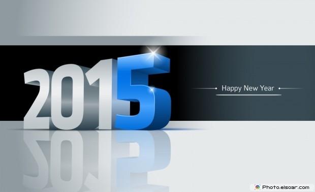 Happy New Year 2015 Hi-Tech Wallpaper