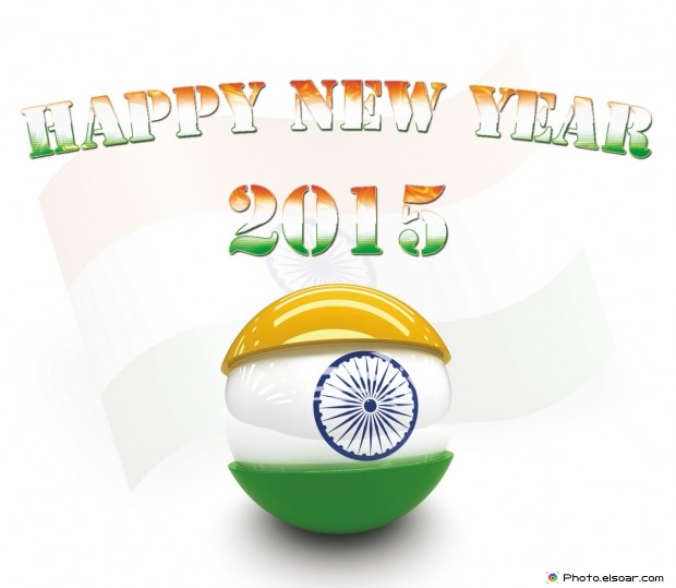 Happy New Year 2015 India - Nav Varsh ki Shubhkamna