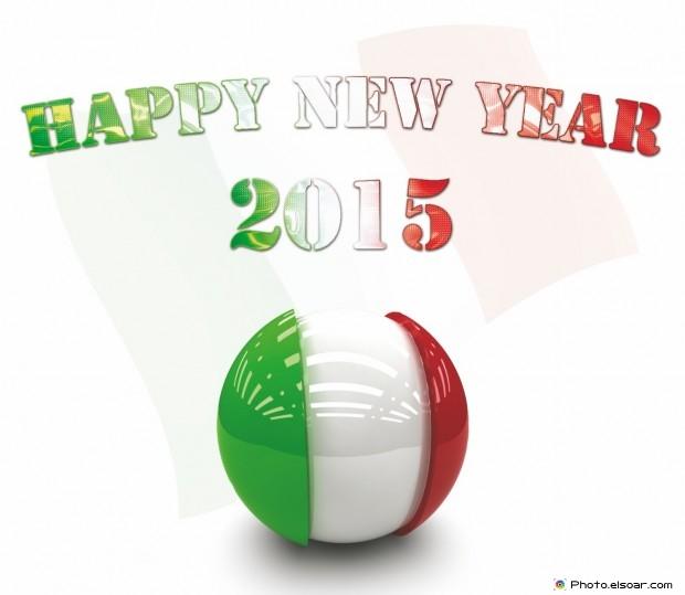 Happy New Year 2015 Italy - Felice Anno Nuovo | buon anno