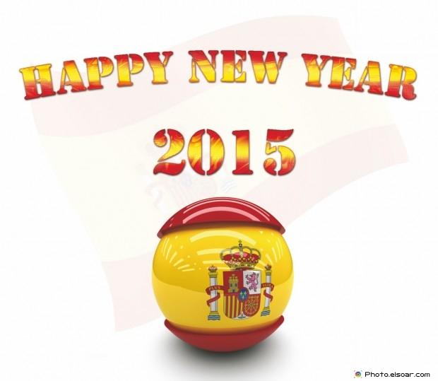 Happy New Year 2015 Spain - Feliz Año Nuevo!