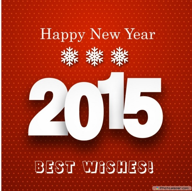 Happy New Year 2015 With A Best Wishes