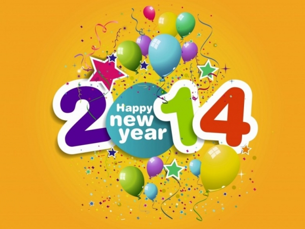 Happy New Year Wishes 2014 Image