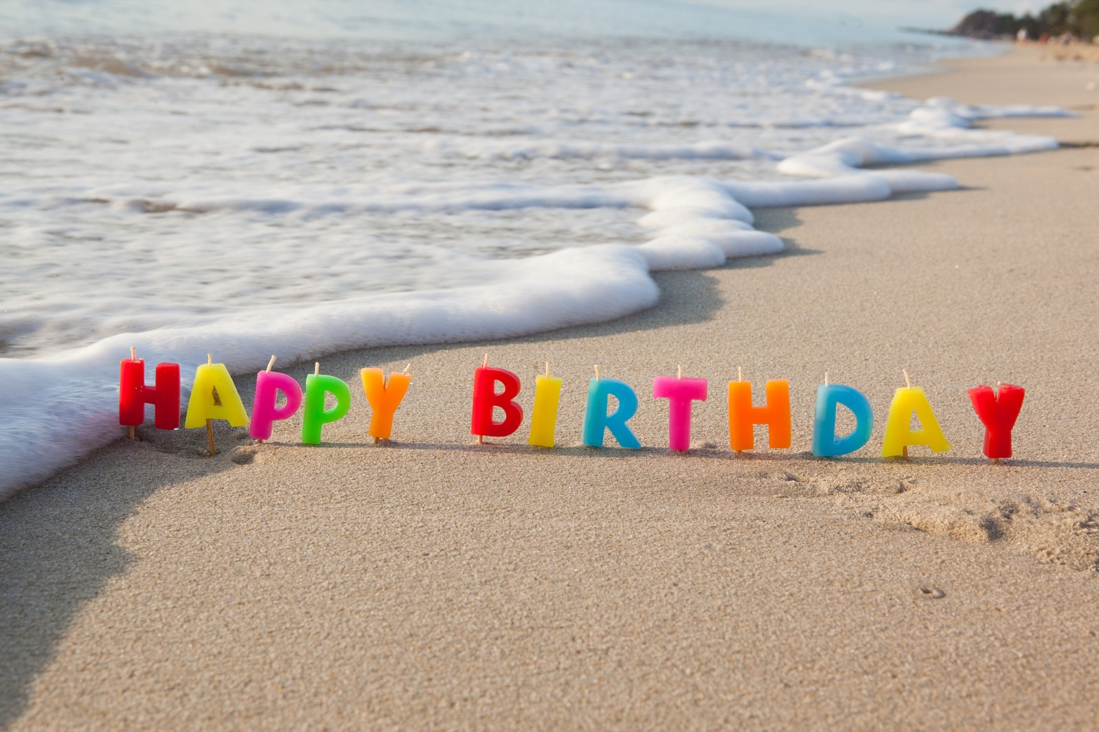 Birthday Card Sayings Beach : Happy birthday beach viewing gallery