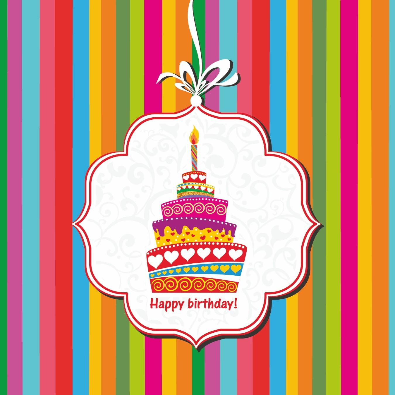 birthday cake card u2013 gangcraft net