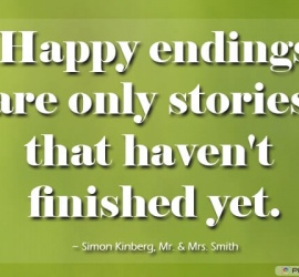 Happy endings are