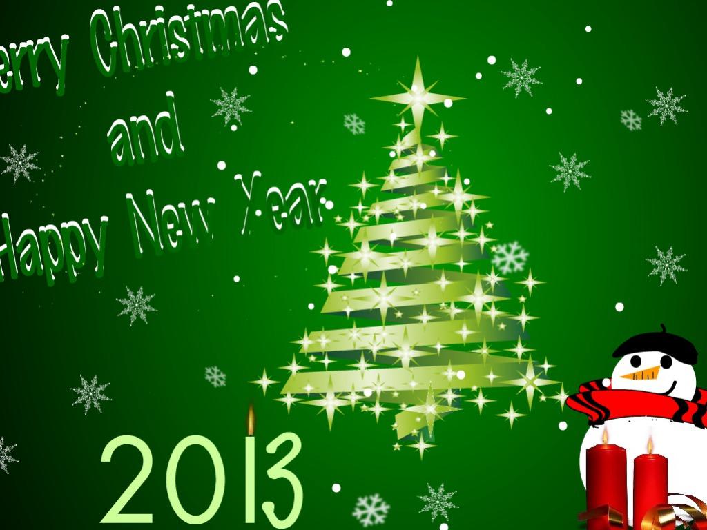 Happy New Year Cartoon HD Wallpaper of New Year