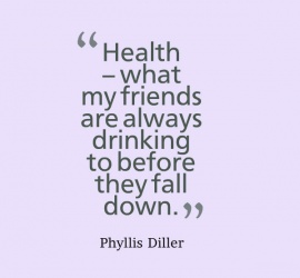 Health - what my friends are always drinking