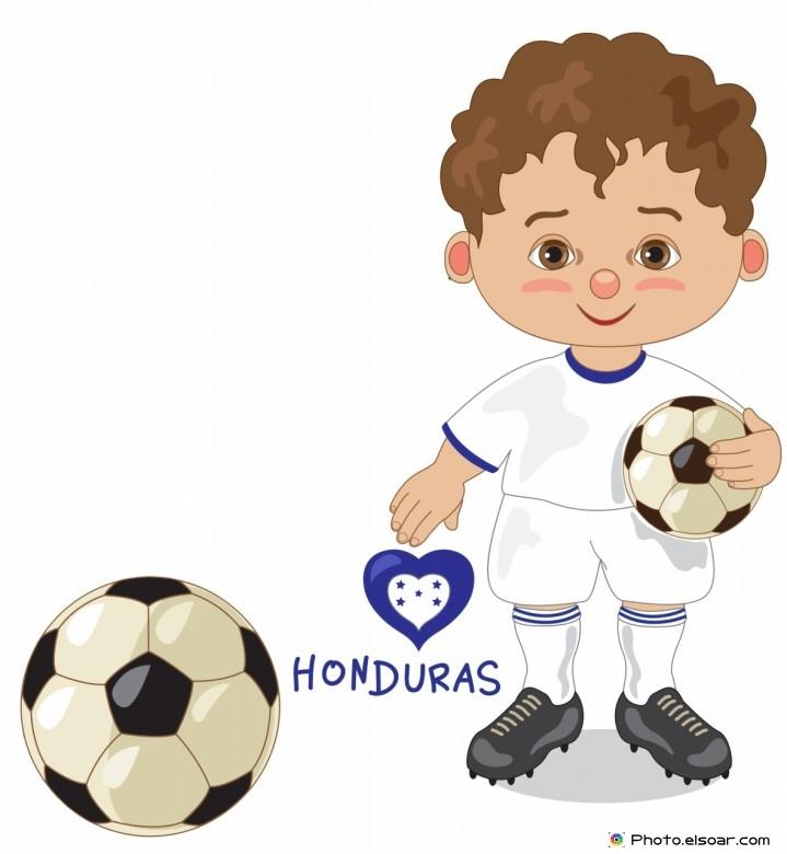 Honduras National Jersey, Cartoon Soccer Player