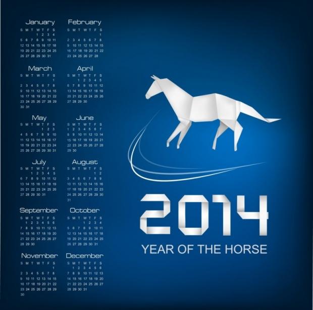 Horse Calendar 2014 1