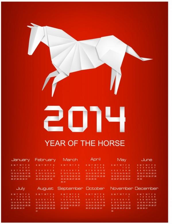 Horse Calendar 2014 4