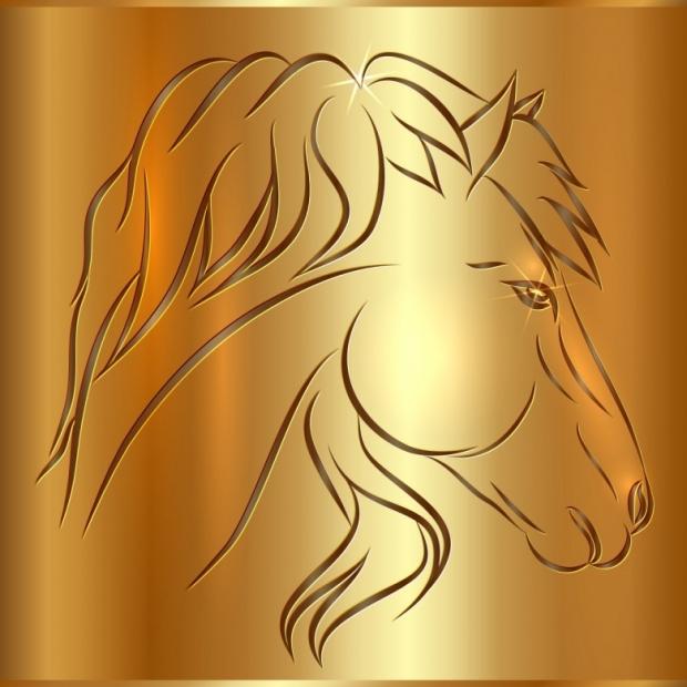 Horses 3D Design image