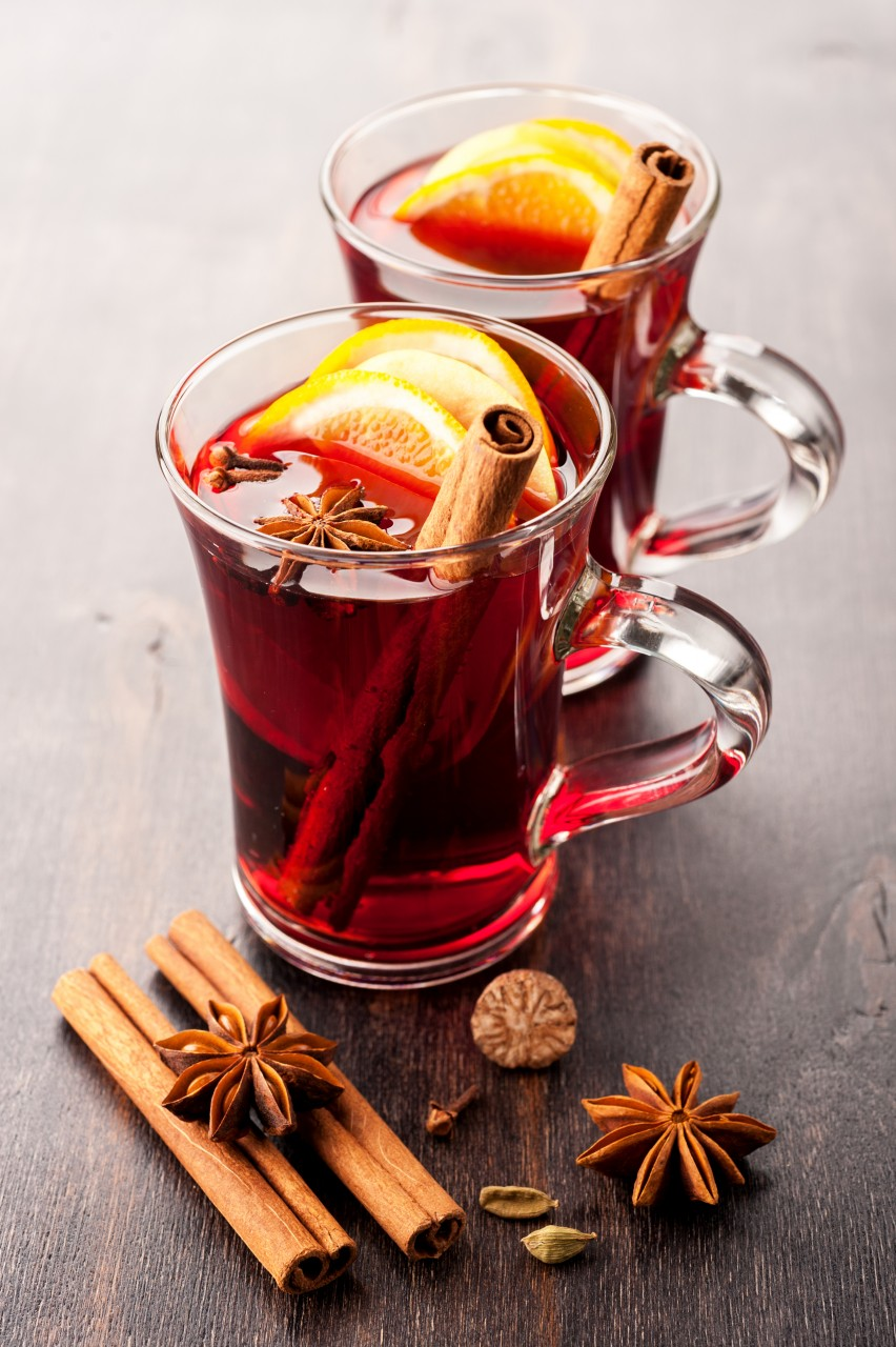 Hot Wine Mulled Wine With