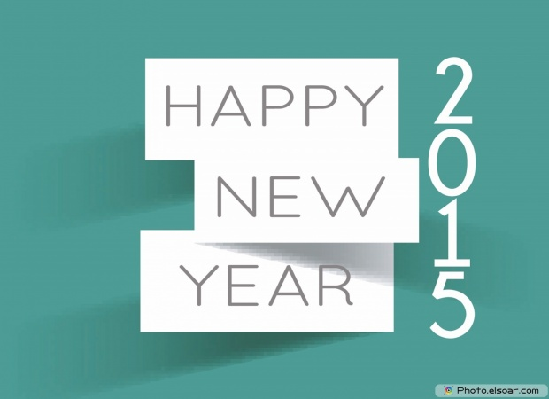 I Wish You Happy New Year 2015 Greeting Card