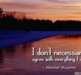 I don't necessarily