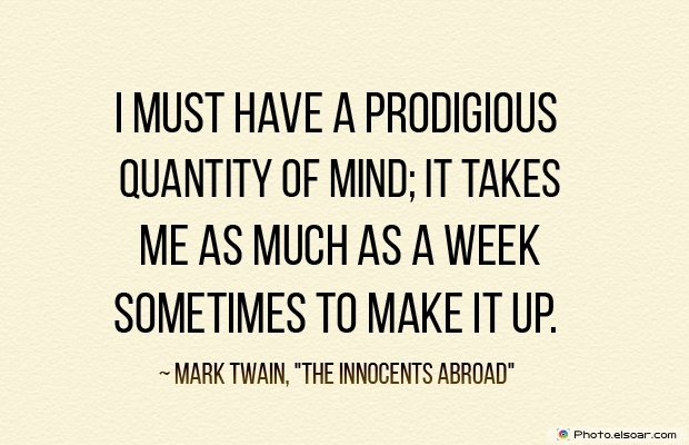 Quotes About Decisions, Quotations, Mind, Mark Twain
