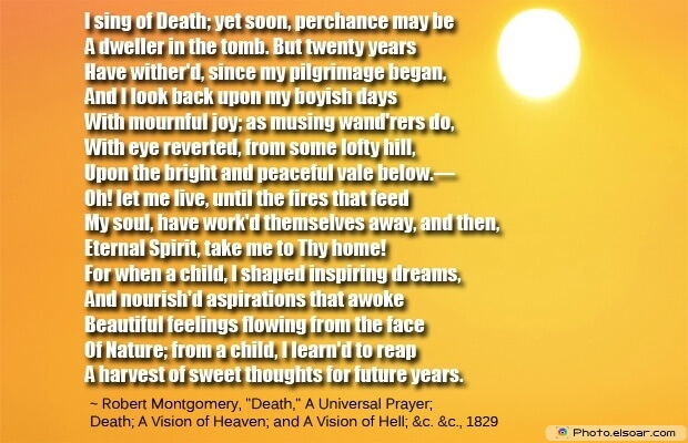 Robert Montgomery, Death Quotes, Death Sayings, Quotes Images, Quotes About Death