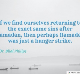 If we find ourselves returning to the exact