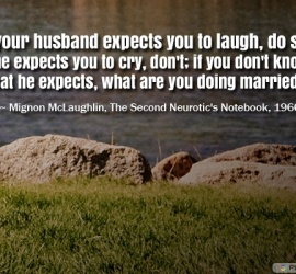 If your husband expects you