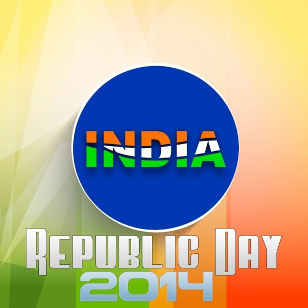 India Republic Day 2014 Design