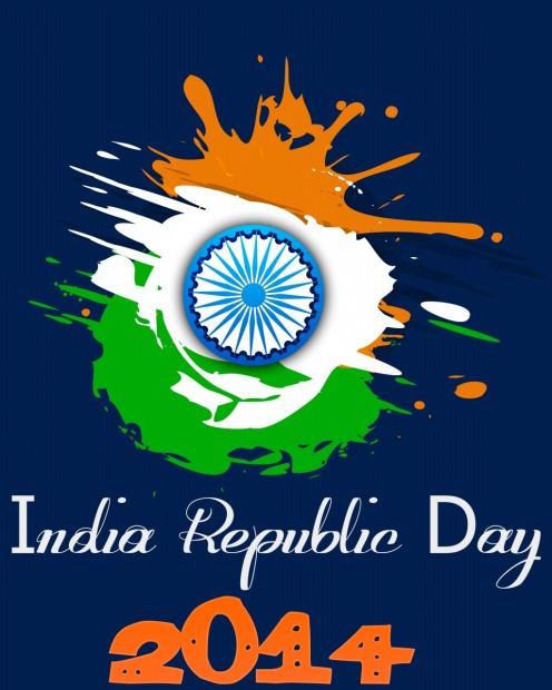India Republic Day 2014 Stylish Picture Design