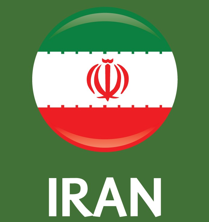 Iran Flag FIFA World Cup