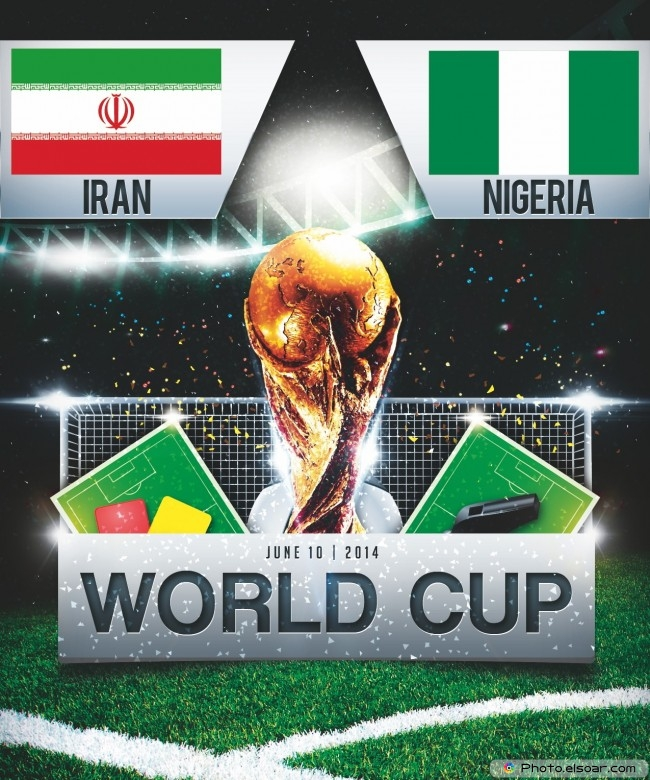 Iran vs Nigeria - World Cup 2014 - 16:00 Local time - GROUP F - Arena da Baixada - Curitiba