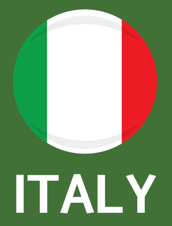 Italy Flag FIFA World Cup