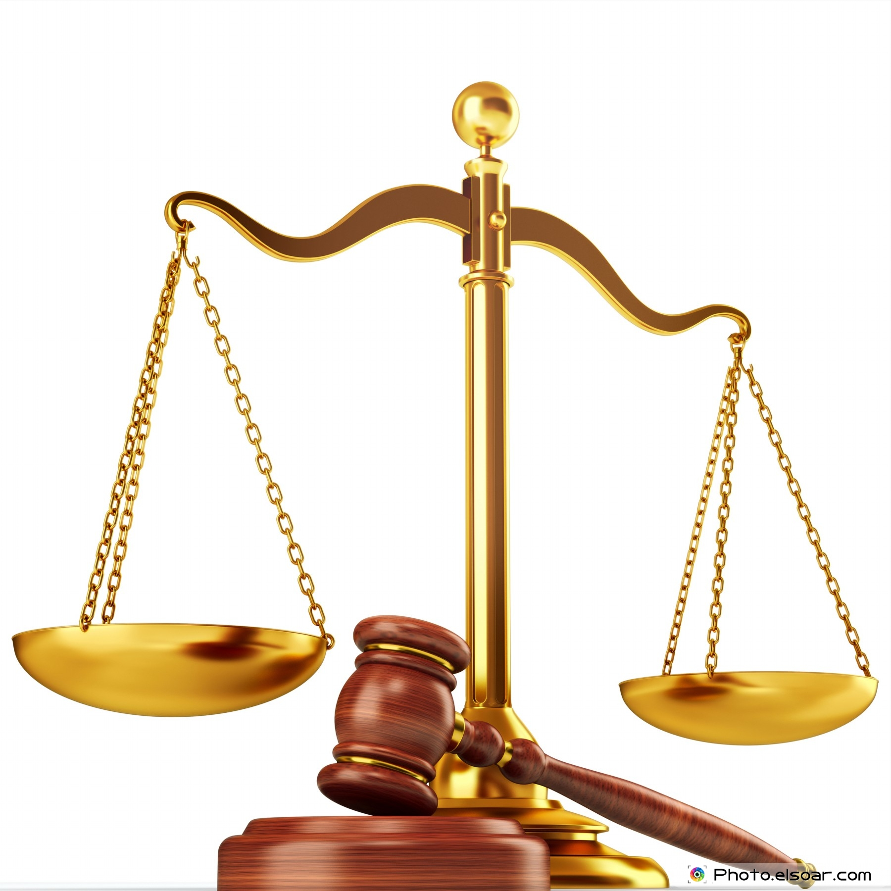 Justice scale and wood gavelUnbalanced Scale Of Justice Vector