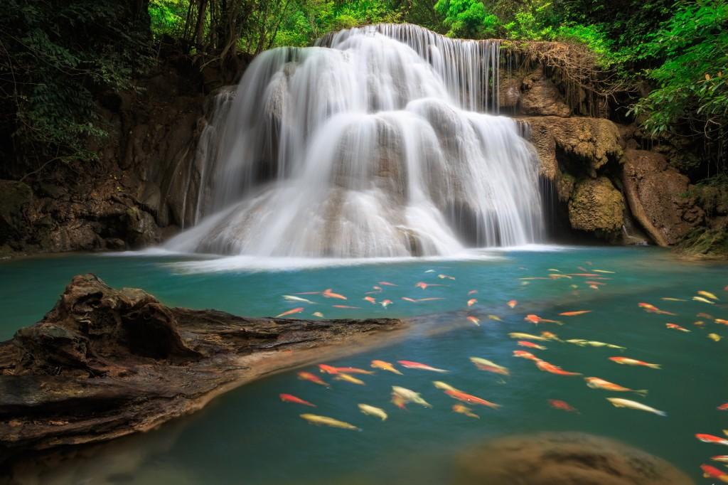 landscape waterfalls wallpapers elsoar