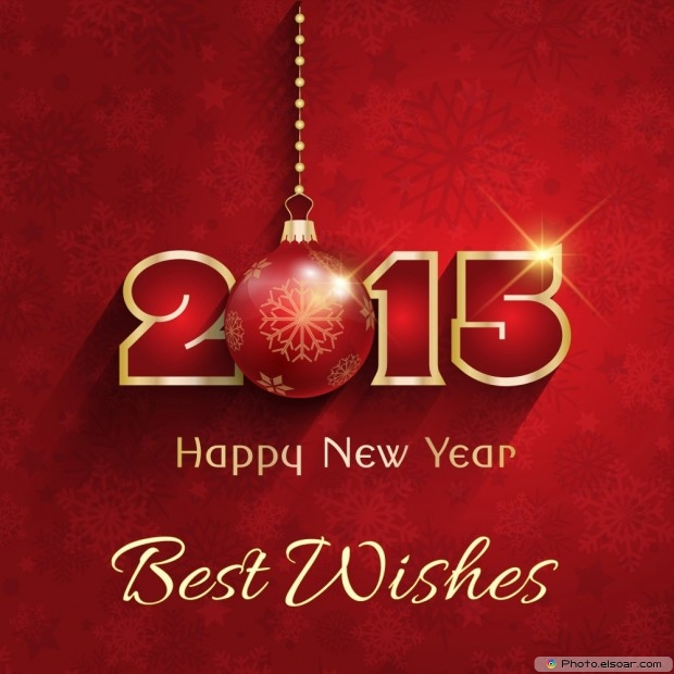 Luxury Happy New Year 2015 With Best Wishes
