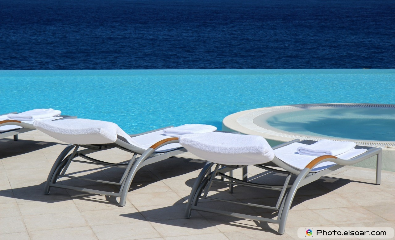 Luxury Outdoor Swimming Pool Chair