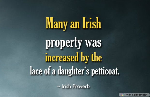 Many an Irish property was