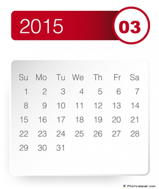 March 2015 Calendar New Updated And Gennerated Picture.