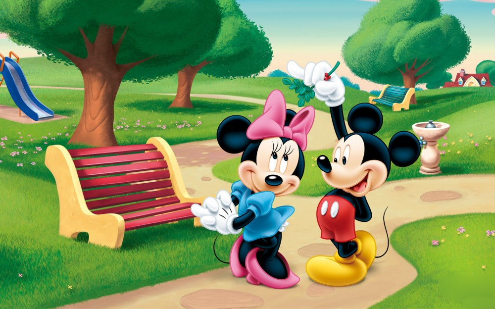 Choose who you want and download Mickey Mouse , Minnie Mouse Pictures ...