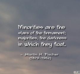 Minorities are the stars