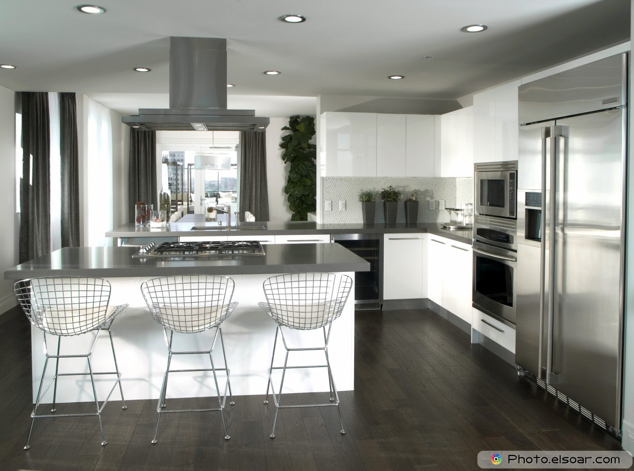The 15 Most Modern Kitchen Interior Designs Elsoar
