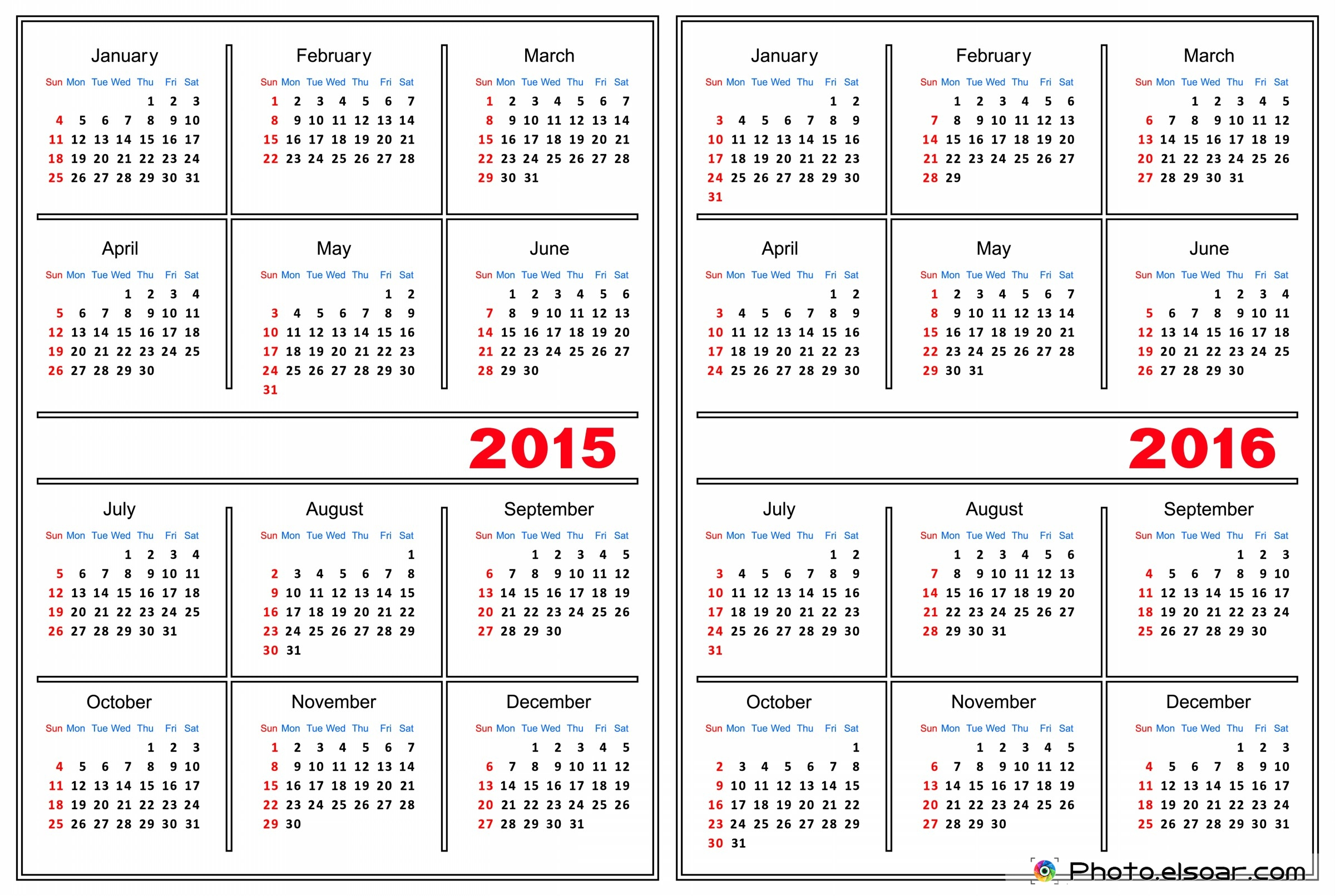 Year of the Goat 2015 Calendars • Elsoar