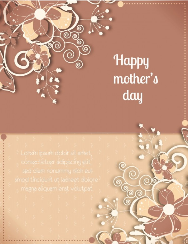 Mother's Day Card Free Download D