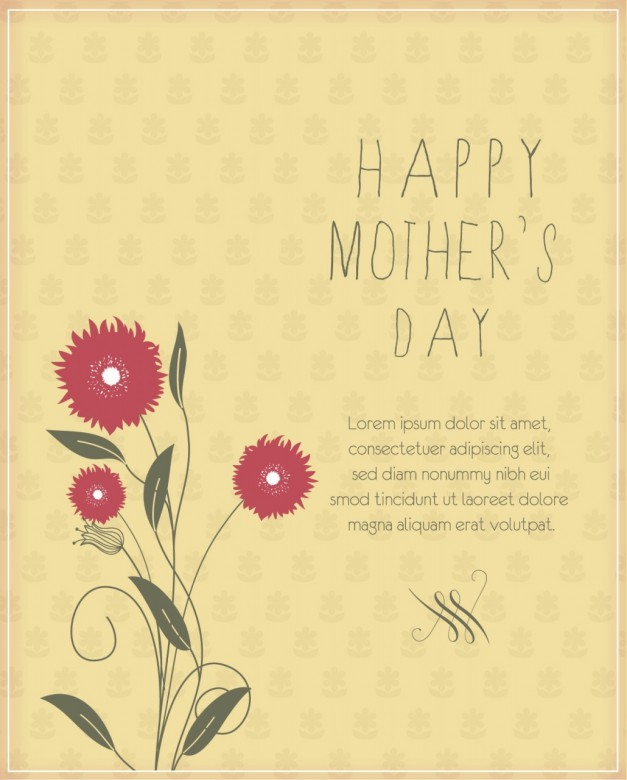 Mother's Day Card Free Download E