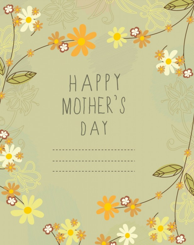 Mother's Day Card Free Download J