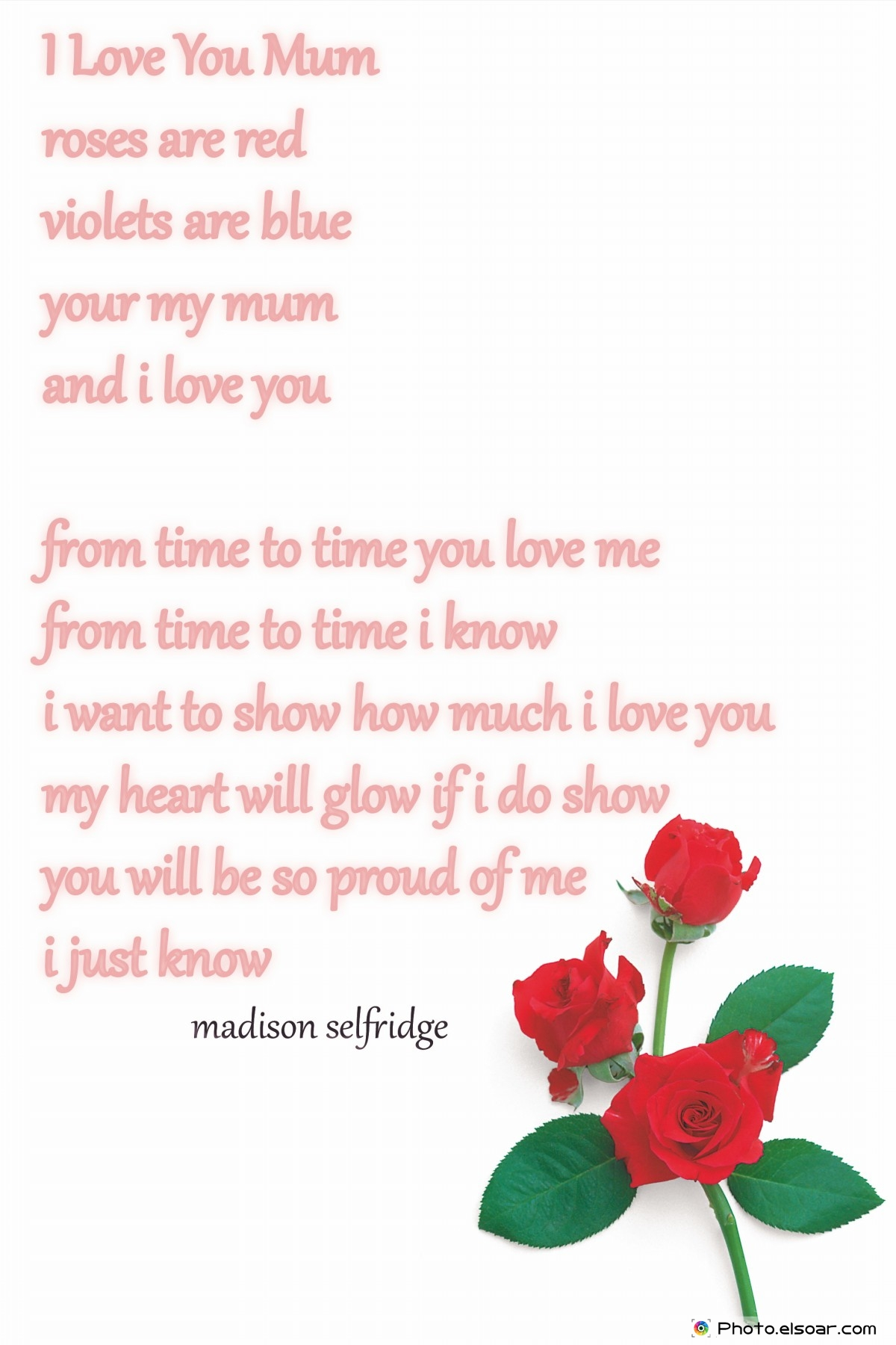 Poems To Show Love For Mom 6