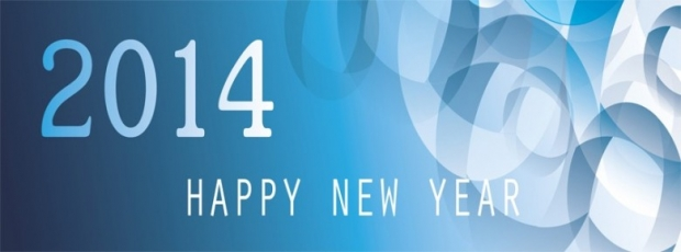 New Year 2014 Facebook Cover 2
