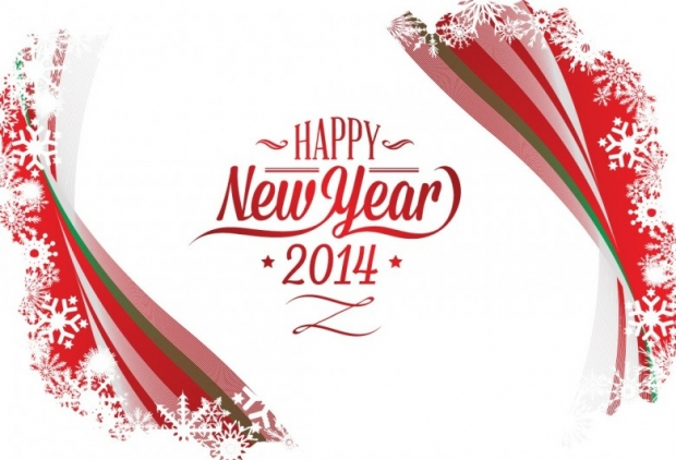 New Year 2014 Free Wallpaper + Background 1
