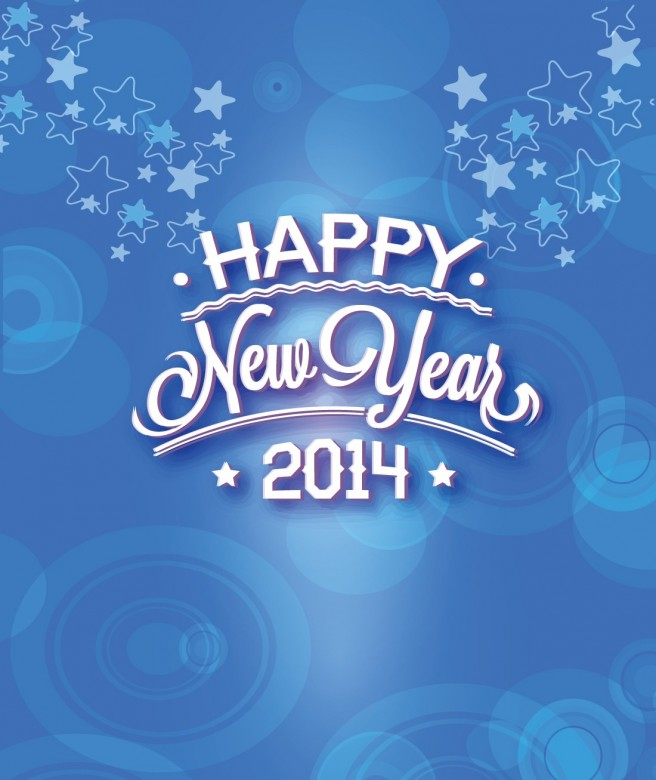 New Year 2014 Free Wallpaper + Background 2