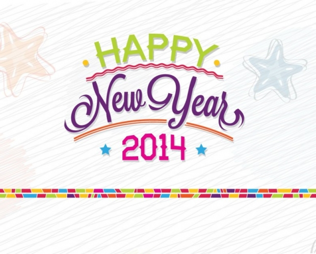 New Year 2014 Free Wallpaper + Background 3