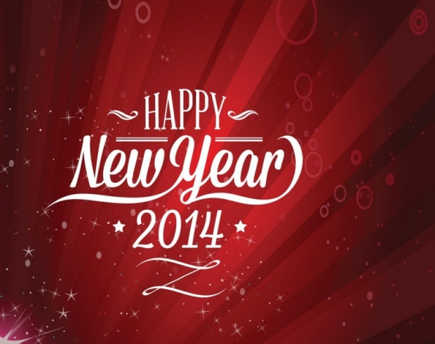 New Year 2014 Free Wallpaper + Background 4