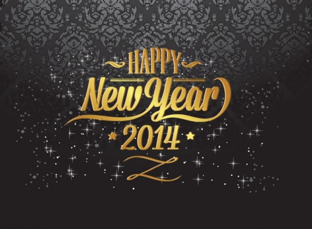 New Year 2014 Free Wallpaper + Background 5