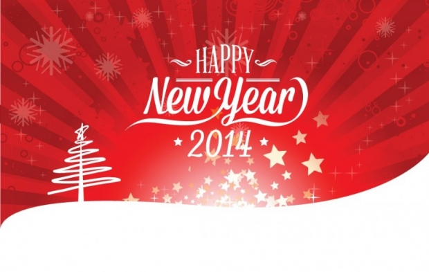 New Year 2014 Free Wallpaper + Background 8