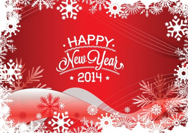 New Year 2014 Free Wallpaper + Background 9